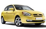 Hyundai Accent Blue or similar
